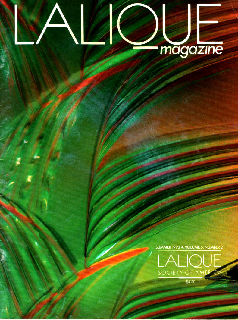 Lalique Society Magazine, Cover Image