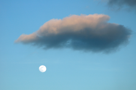 Magritte's Moon