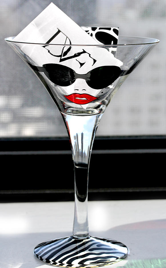 DVF Martini Glass