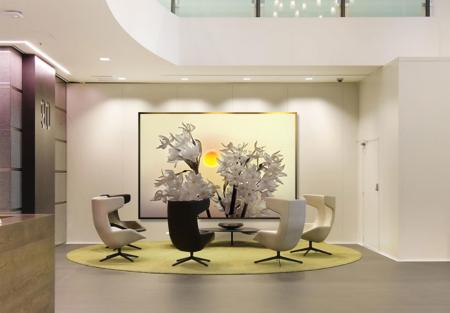 Photo: Midnight Sun | Setting: Commercial - Corporate, Lobby
